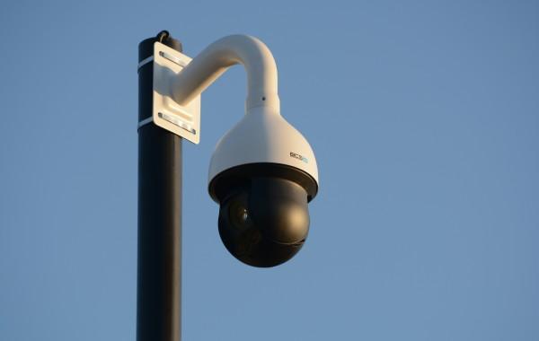 Montaż kamer dla PKP w miejscowości Szeligi